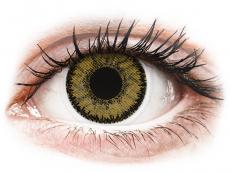 Hnedé kontaktné šošovky - dioptrické - SofLens Natural Colors Dark Hazel - dioptrické (2 šošovky)
