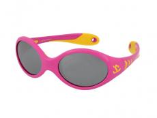 Slnečné okuliare - Kid Rider KID177 Pink/Yellow