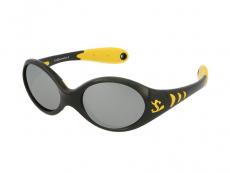 Slnečné okuliare - Kid Rider KID77 Black/Yellow