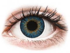 Modré kontaktné šošovky - dioptrické - Air Optix Colors - True Sapphire - dioptrické (2šošovky)