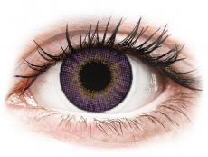 Fialové kontaktné šošovky - nedioptrické - Air Optix Colors - Amethyst - nedioptrické (2 šošovky)