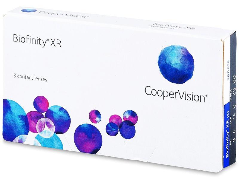 Biofinity XR (3šošovky) - Mesačné kontaktné šošovky - Cooper Vision