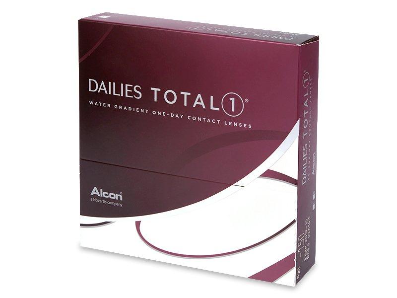 Jednodenné kontaktné šošovky - Dailies TOTAL1 (90šošoviek)