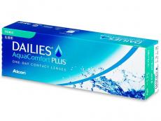 Torické (astigmatické) kontaktné šošovky - Dailies AquaComfort Plus Toric (30šošoviek)