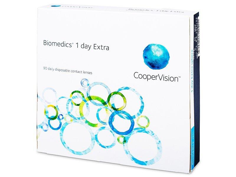 Biomedics 1 Day Extra (90šošoviek) - Jednodenné kontaktné šošovky - Cooper Vision