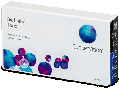 Biofinity Toric (6šošoviek) - Tórické kontaktné šošovky