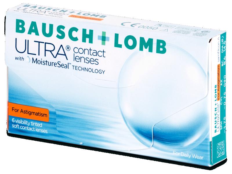 Bausch + Lomb ULTRA for Astigmatism (6 šošoviek) - Torické kontaktné šošovky
