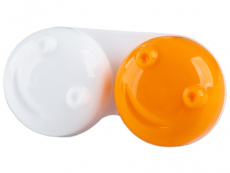 Príslušenstvo - Puzdro na šošovky 3D - oranžové