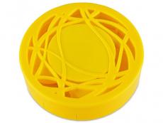 Príslušenstvo - Kazeta s ornamentom - žltá