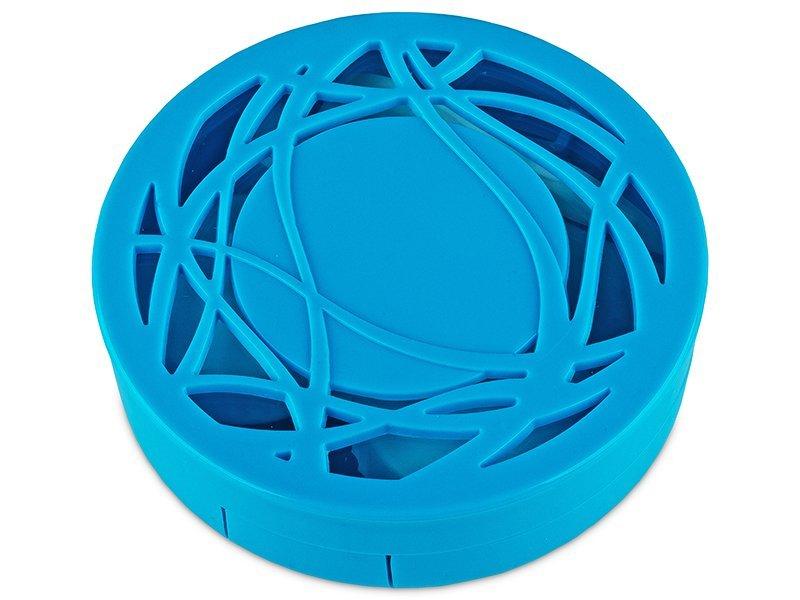 Kazeta s ornamentom - modrá