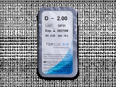 TopVue Air (6 šošoviek) - Vzhľad blistra so šošovkou
