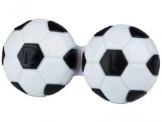 Príslušenstvo - Puzdro na šošovky Futbal - čierne