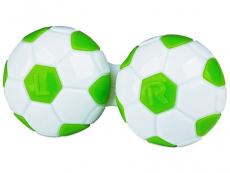Puzdrá a ostatné - Puzdro na šošovky Futbal - zelené