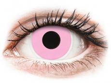 Ružové kontaktné šošovky - nedioptrické - ColourVUE Crazy Lens - Barbie Pink - nedioptrické (2šošovky)