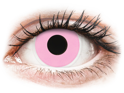 ColourVUE Crazy Lens - Barbie Pink - nedioptrické (2šošovky)
