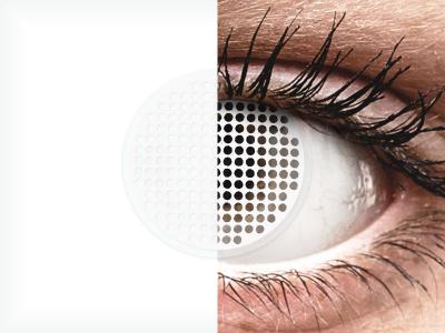 ColourVUE Crazy Lens - White Screen - nedioptrické (2šošovky)