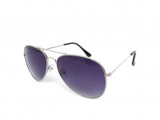 Slnečné okuliare - Slnečné okuliare Alensa Pilot Silver