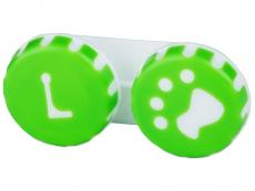 Príslušenstvo - Puzdro na šošovky Labka - zelené