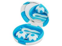 Kazeta Futbalová lopta - modrá
