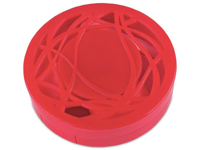 Kazeta s ornamentom - červená