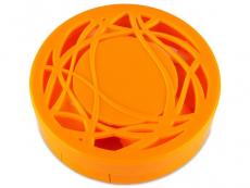 Príslušenstvo - Kazeta s ornamentom - oranžová