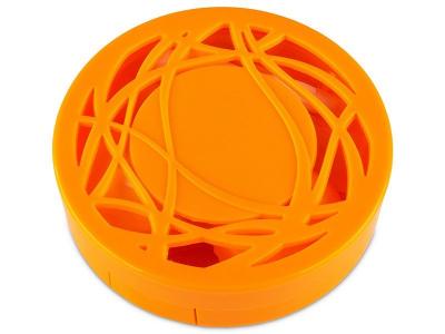 Kazeta s ornamentom - oranžová
