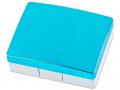 Elegantná kazeta - modrá