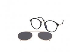 Dioptrické okuliare Okrúhle - Crullé TR1712 C1