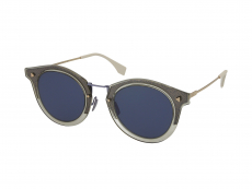 Slnečné okuliare Browline - Fendi FF M0044/G/S 09V/KU