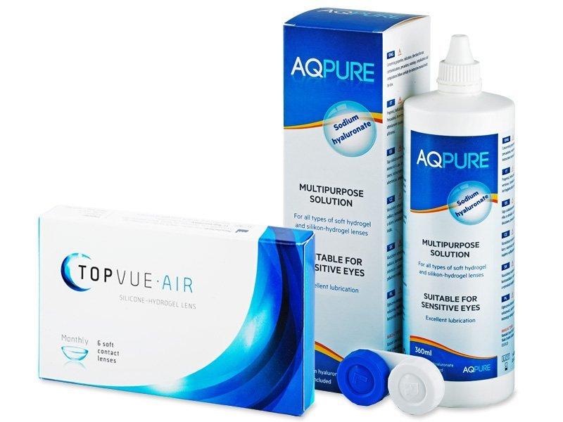 TopVue Air (6 šošoviek) +AQPure360ml - Výhodný balíček
