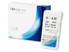 Kontaktné šošovky - TopVue Air (1 šošovka)