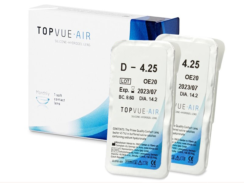 TopVue Air (1+1 šošovka)