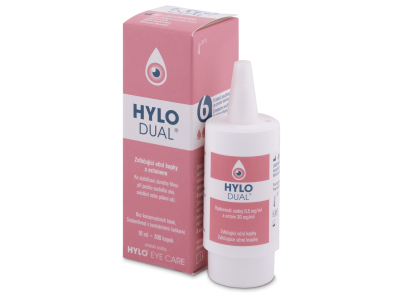 Očné kvapky Hylo DUAL 10 ml
