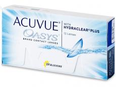 Dvojtýždenné kontaktné šošovky - Acuvue Oasys (12šošoviek)