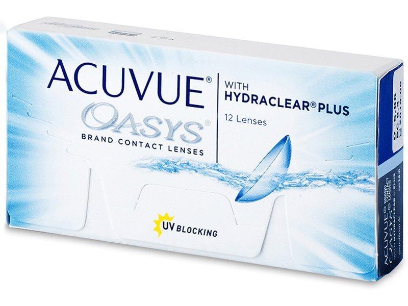 Acuvue Oasys (12šošoviek) - Štrnásťdenné kontaktné šošovky - Johnson and Johnson