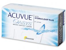 Dvojtýždenné kontaktné šošovky - Acuvue Oasys (24 šošoviek)