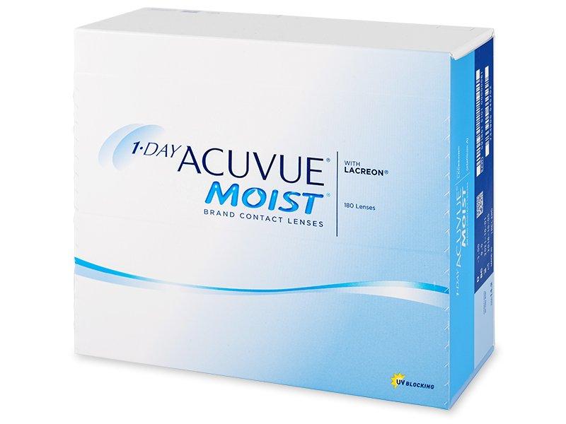 1 Day Acuvue Moist (180šošoviek) - Jednodenné kontaktné šošovky