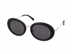 Slnečné okuliare oválne - Calvin Klein Jeans CKJ18701S-001