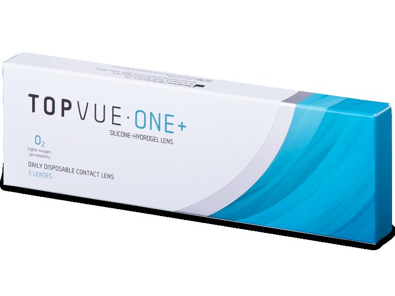 TopVue One+ (5 šošoviek) - Jednodenné kontaktné šošovky