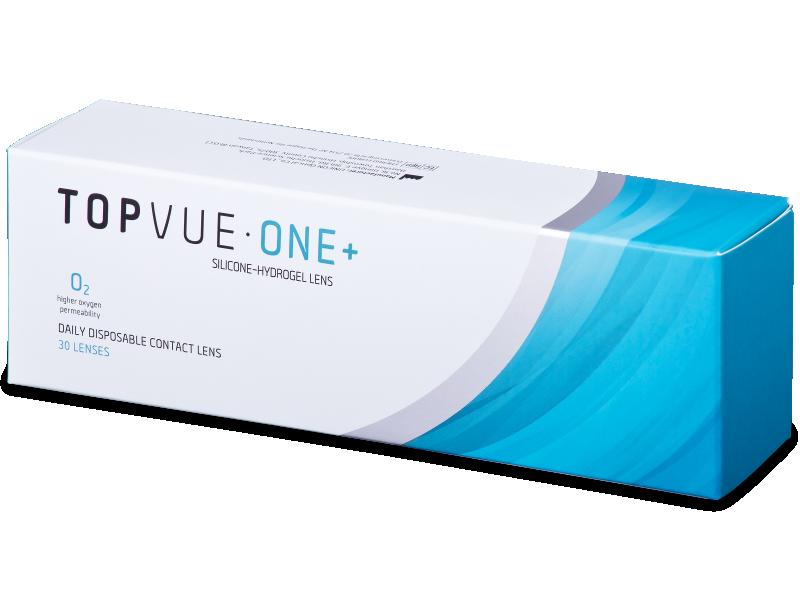 TopVue One+ (30 šošoviek) - Jednodenné kontaktné šošovky