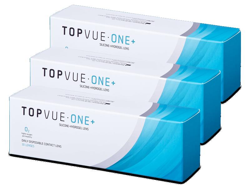 TopVue One+ (90 šošoviek) - Jednodenné kontaktné šošovky