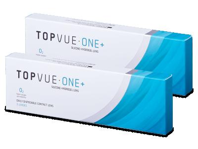 TopVue One+ (5 párov šošoviek) - Jednodenné kontaktné šošovky