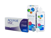 Acuvue Vita (6 šošoviek) + roztok Gelone 360 ml