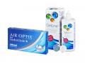 Air Optix plus HydraGlyde (3 šošovky) + roztok Gelone 360 ml