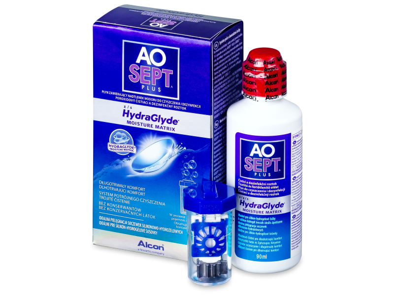 AO SEPT PLUS HydraGlyde 90 ml  - Čistiaci roztok