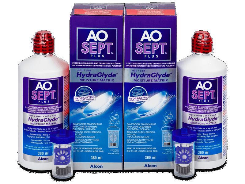 AO SEPT PLUS HydraGlyde 2 x 360ml  - Výhodné dvojbalenie roztoku