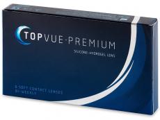 Kontaktné šošovky - TopVue Premium (6šošoviek)