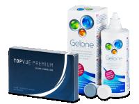 TopVue Premium (6šošoviek) +roztok Gelone 360ml - Výhodný balíček