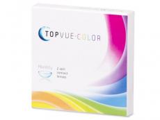 Farebné kontaktné šošovky - TopVue Color - dioptrické (2šošovky)