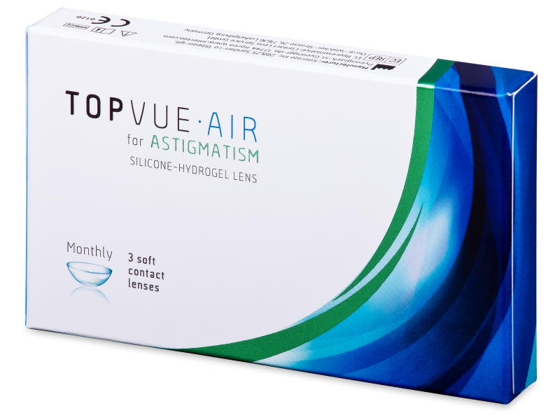 TopVue Air for Astigmatism (3šošovky)